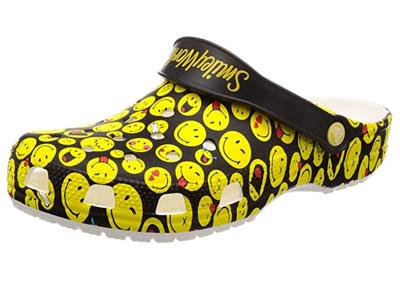Crocs-men's-smiley-clog