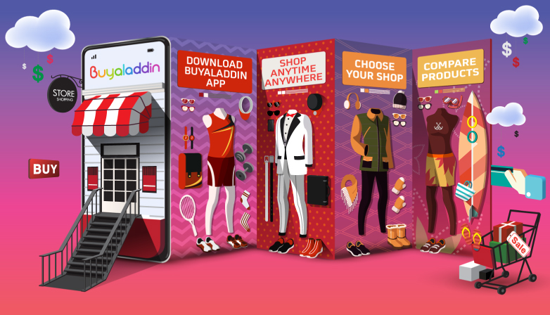 Buyaladdin All In One Shopping App