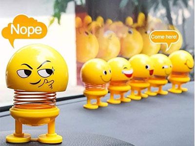 six-different-emoji-bubbleheads