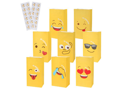 emoji candy bags