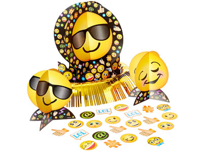 emoji table decoration