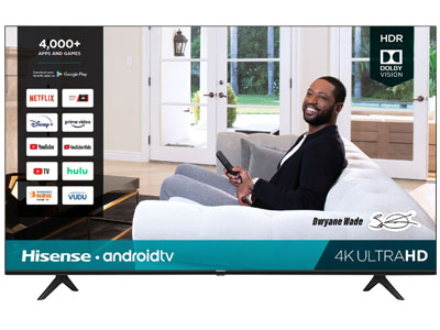 Hisense 55-Inch Android 4K TV For Gaming