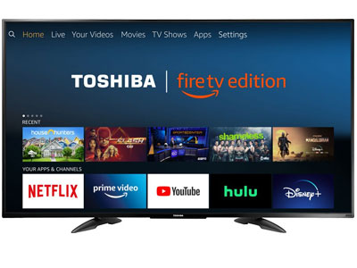 Toshiba 55LF711U20 55-Inch 4K TV for Gaming