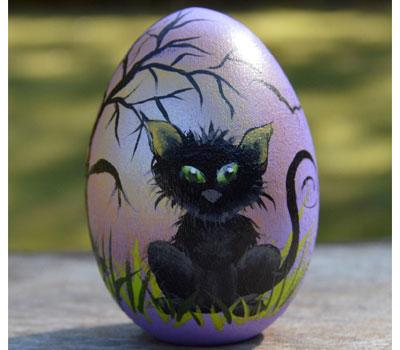 Halloween-Painted-Eggs