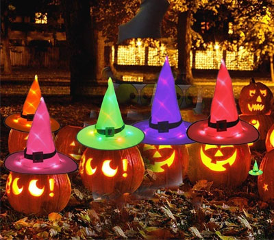 Halloween-Witch-Hat-Decorations