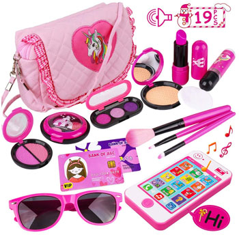 Kids Pretend Play Makeup Set