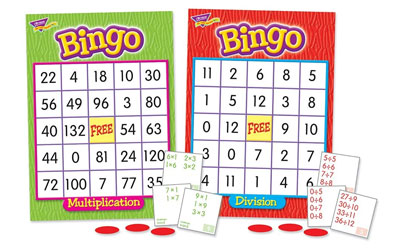 Multiplication-And-Division-Bingo-Game