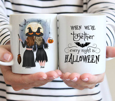 Personalized-Halloween-Coffee-Mugs