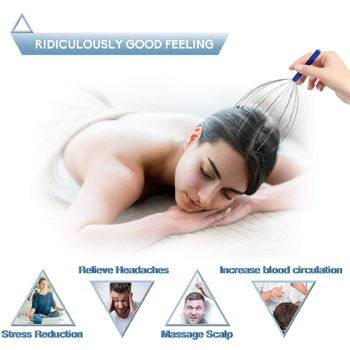 Scalp Handheld Head Massage Tingler