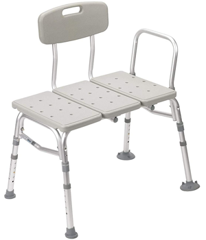 Plastic-Tub-Transfer-Bench-With-Adjustable-Backrest